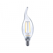 Kronljus led bent tip E14